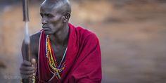Contemplation, Kenya. Maasai tribe. Photo by Lisa Kristine.