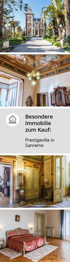 Prestigevilla In Sanremo Zum Verkauf