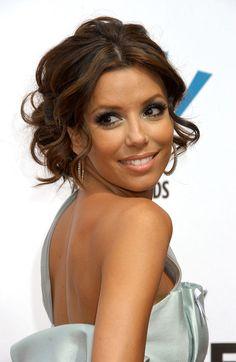 brunette prom hair - Google Search