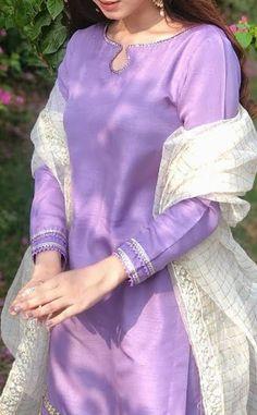 Neck Designs For Suits, Neckline Designs, Dress Neck Designs, Kurti Neck Designs, Kurti Designs Party Wear, Stylish Kurtis Design, Stylish Dress Designs, Designs For Dresses, Simple Pakistani Dresses