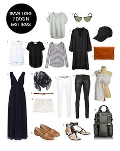 what to pack.for 5 days in texas - Google Search