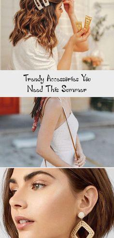 Trendy Accessories You Need this Summer - thatgirlArlene #summerhairstylesForSchool #summerhairstylesNoHeat #Casualsummerhairstyles #Hotsummerhairstyles #summerhairstylesStraight