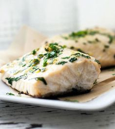 easy clean eating halibut in 15 min or less