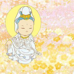 Little Buddha, Gautama Buddha, Buddha Art, Godchild, Guanyin, Chinese Art, Deities, Asian Art, Chibi