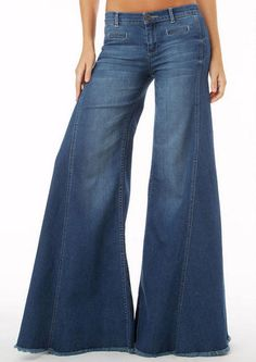 S&P By Standards and Practices Extreme Flare Jean #myalloy #alloyapparel
