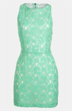 POPSUGAR Shopping: NordstromASTR Cutout Lace Dress..... Bridal shower dress