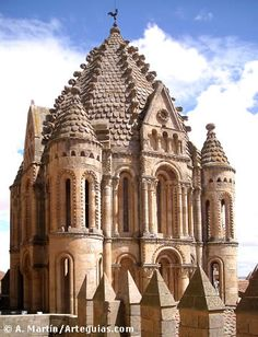 Torre del Gallo of Cathedral of Salamanca - Castile and León, Spain