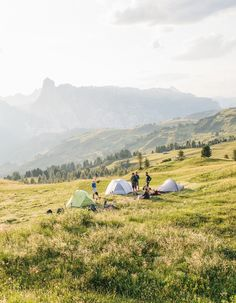 desertbee:  kevinfaingnaert:  Camping in the Dolomites, Italy 2015  mmmmm