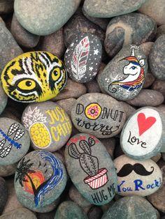 Rock breaking paintings! Breaking Rocks DIY pebbles stones painting kit. Soon available. #breakingrocks #DIY #artsandcrafts #artandcraft #painting #allages #stones #rockart #rockartist #colorful #pebbles #riverstones