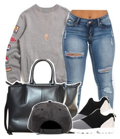 """Untitled #1287"" by kiaratee ❤ liked on Polyvore featuring 10.Deep, Alexander Wang, adidas and Pamela Love"