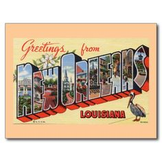 >>>Cheap Price Guarantee          Greetings from New Orleans, Louisiana Post Card           Greetings from New Orleans, Louisiana Post Card we are given they also recommend where is the best to buyThis Deals          Greetings from New Orleans, Louisiana Post Card Review from Associated Sto...Cleck Hot Deals >>> http://www.zazzle.com/greetings_from_new_orleans_louisiana_post_card-239464462988419519?rf=238627982471231924&zbar=1&tc=terrest