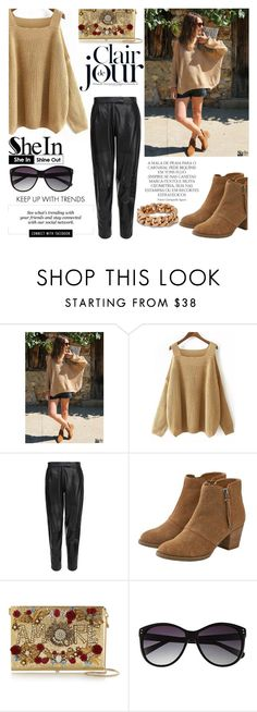 """""""SheIn Contest < JOIN NOW!!"""" by kenguri ❤ liked on Polyvore featuring MuuBaa, American Eagle Outfitters, Dolce&Gabbana, Vince Camuto, Erdem, Magdalena, STELLA McCARTNEY and shein"""