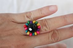 Rainbow ring free beading tutorial (Scheduled via TrafficWonker.com)