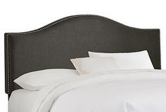 Summer in the Mountains | One Kings Lane Tallman headboard graphite