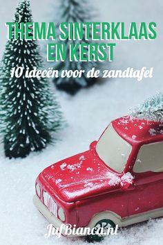 Thema Sinterklaas en Kerst: 10 ideeën voor de zandtafel