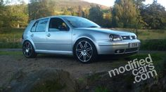 Modified VW Golf Mk4 GTi 2001 Pictures