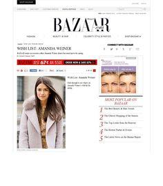 Harper's Bazaar Online / March 2013