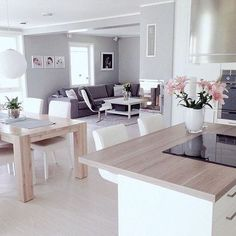 This home inspires me to get cracking cleaning the house today by @myhouseinterior