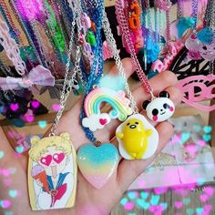 Kawaii choker ~ kawaii jewelry ~ handmade jeeelry ~ harajuku style ~ Kawaii fashion ~ j fashion ~ pastel fashion ~ pastel goth jewelry ~ pop kei ~ harajuku ~ gyaru ~ fairy kei ~ lolita fashion ~ gothic lolita ~ pastel goth ~ sweet lolita ~ decora ~ gudetama necklace ~ fairy kei necklace ~ fairy kei jewelry ~ rainbow necklace  psychobabyshop~ panda necklace ~ ddlg  ~ resin jewlery ~ #kawaiishops ~ resin necklace ~ #kawaiistyle ~ sailor moon necklace