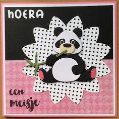 """Kaartenblog van Tineke: Panda""""s"""