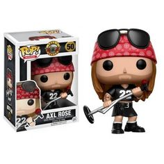 Guns /'N/' Roses Slash figurines Personnages Collections Top Pop Funko 51
