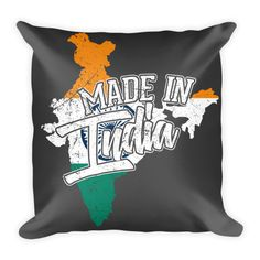 Made In India Pillow