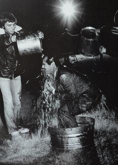 Jack Nicholson on the set of CHINATOWN (Roman Polanski, USA, 1974) | Source: Cinephilia  Beyond
