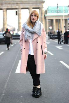 Berlin Fashion Week 2014 Street Style Trends | Rosa