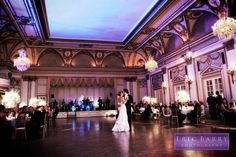 Wedding venue photographed by Eric Barry Photography.