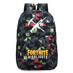 1ebe8d12e8 Fortnite Backpack School Bags for Kids Fornite Highlights Backpacks