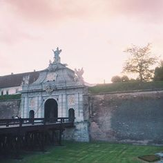 Alba Carolina citadel in Romania