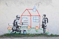 Distorsion Urbana: Street art bansky