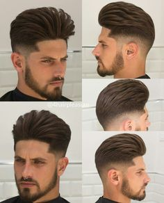 """New """"boy hairstyles images"""" Trending Boy Amazing hairstyle pic collection 2019 Boys Haircut Styles, Hipster Haircuts For Men, Stylish Little Boys, Pompadour Hairstyle, Look 2018, Popular Haircuts, Beard No Mustache, Hair Images, Boy Hairstyles"""