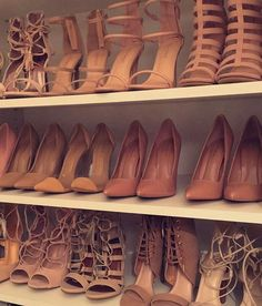 Shop the latest women's nude shoes in neutral shades of beige, pink and brown perfectly matching your skin tone. Nude Shoes, Shoes Heels, Pumps, Basket A Talon, Sneaker Heels, Prom Shoes, Shoe Closet, Shoe Collection, Me Too Shoes