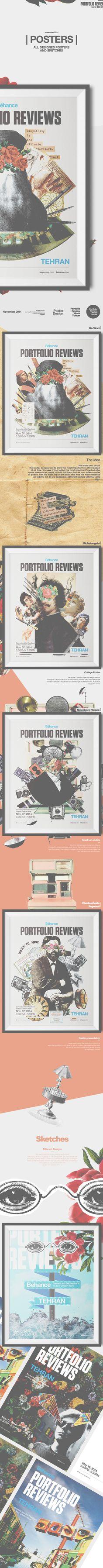 | Posters | Behance Portfolio Review Week Tehran on Behance