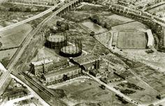 Eastville Stadium 1920's pre=Greyhound track.