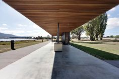 The Glenorchy Art and Sculpture Park pavilion, Hobart by Room 11 Architects