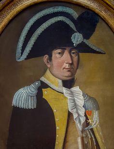 Portrait D'un Officier, École Française Du 18e Siècle, Titan Fine Art, Proantic