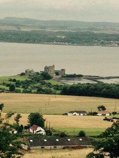 blackness castle as seen from the house of Binns west lothian