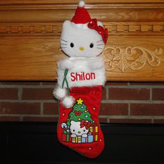 0fe77509e 90 Best Personalized Christmas Stockings images in 2012 | Christmas ...