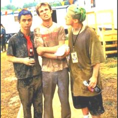 "Green Day Woodstock '94 ""I don't care what you say! I don't care what you doooo...I don't wanna be a mud hippie...like yooouuuu"" -Billie Joe during the epic mud fight"