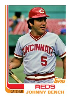 Johnny Bench, Cincinnati Reds Baseball, Garbage Pail Kids, Mlb, Baseball Cards, Sports, Action, Hs Sports, Group Action
