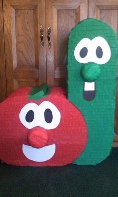 veggie tale piñata