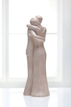 Intimate Dance - Man and Woman Sculpture. $85.00, via Etsy.