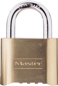 1982 - Master Lock introduces its first resettable combination lock, 175.