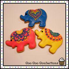 Indian Elephant Cookies