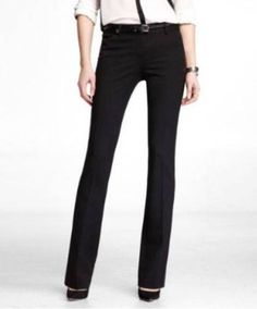 NWOT-EXPRESS-BLACK-STUDIO-STRETCH-BARELY-BOOT-EDITOR-PANTS-2R