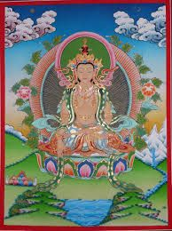 Gyuma Chenmo is the Dakini of dream. Wich is invoked and visualized in dreamyoga-practice in the Ma Gyu (Mothertantra).