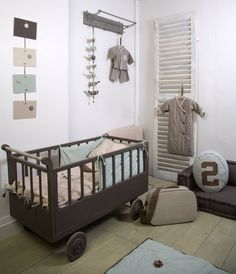 Stoere babykamer in