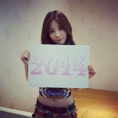 Taeyeon's Instagram: [TRANS] Come quickly #2014